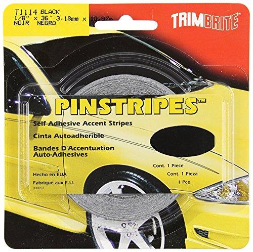 Price comparison product image Trimbrite T1114 1 / 8 Pinstripe Tape Black (6)
