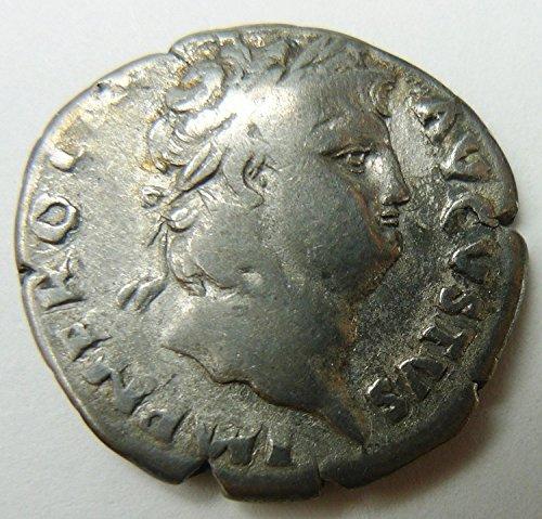 IT Nero - Roman Emperor: 54-68 A.D. Silver Denarius - Hygieia Salus Health Goddess Coin Very Good (Victory Goddess)