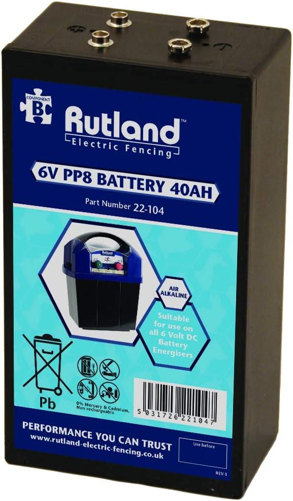 Rutland 22-104R Batterie Twin PP8-6 V 40 Ah