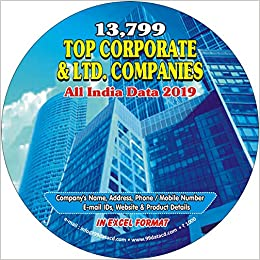 Buy Top Corporate and Ltd  Companies Directory, Database