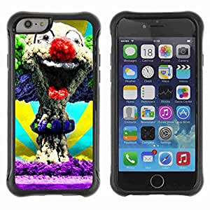 "A-type Arte & diseño Anti-Slip Shockproof TPU Fundas Cover Cubre Case para 4.7"" iPhone 6 ( Clown Explosion )"