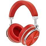 Bluedio T4S Cuffie Con Riduzione Attiva Del Rumore Ripiegabili, Over-ear, Cuffie Bluetooth Senza Fili Con Microfono (Rosso)