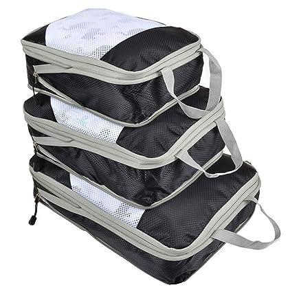 Amazon.com: Kebyy 3 bolsas de almacenamiento de viaje ...