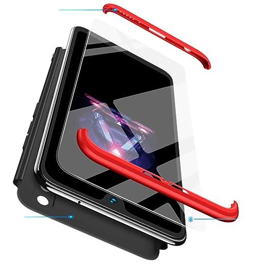 BESTCASESKIN Funda Xiaomi Mi MAX 2, Carcasa Móvil de Protección de 360° 3 en 1 Desmontable con HD Protector de Pantalla Carcasa Caso Case Cover para ...