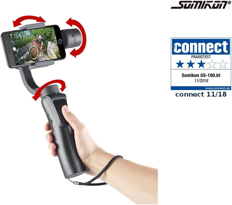 Somikon - Gimbal: estabilizador de Mano de 3 Ejes para Smartphones ...
