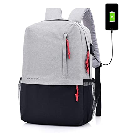 fbad3f30fa7a AHWZ Student Bag Backpack Smart Charging Backpack Business Travel Bag  Fashion Backpack Computer Bag with USB