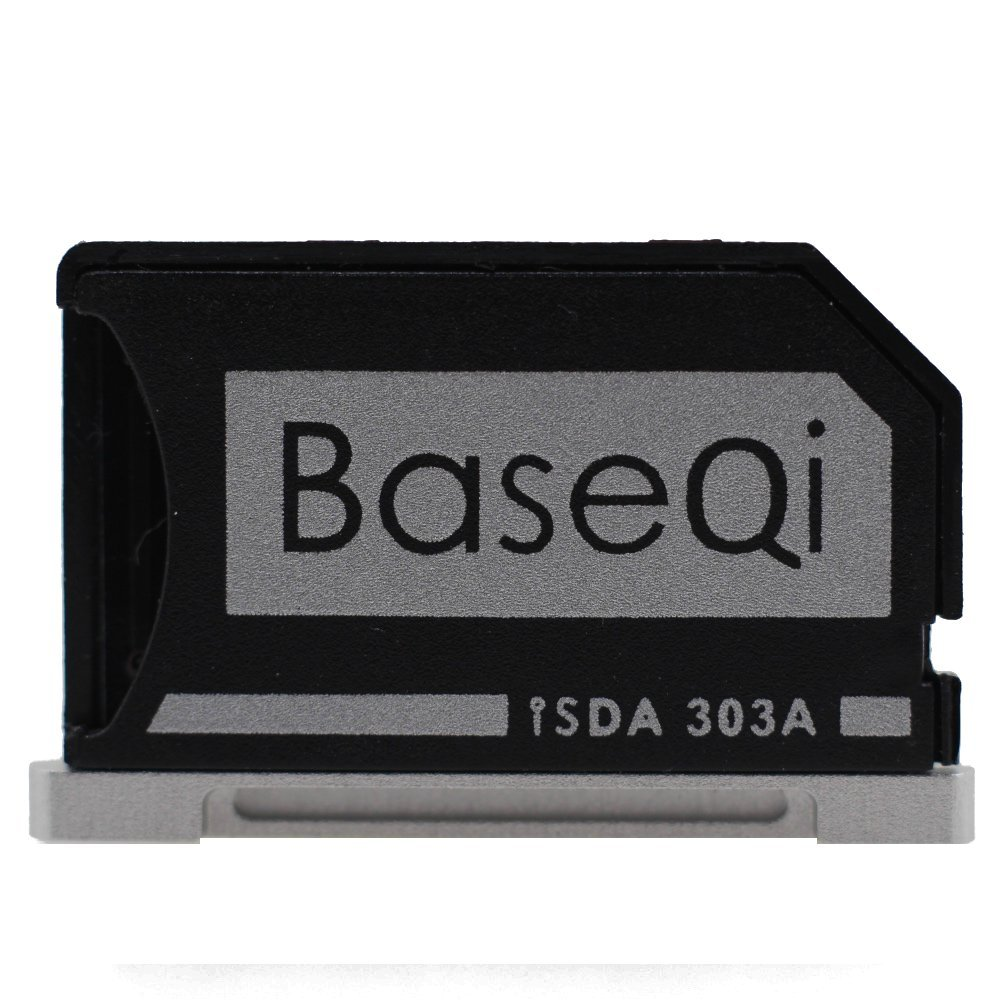 BASEQI Aluminum microSD Adapter for MacBook Pro Retina 13''