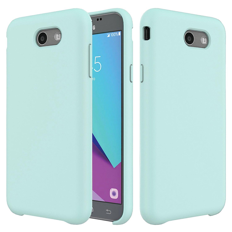 info for 9ce59 bebd0 Galaxy J7 Case,Setber Liquid Silicone Gel Rubber Shockproof Case with Soft  Microfiber Cloth Lining Cushion for Samsung Galaxy J7 2017/J7 V/J7 Sky ...