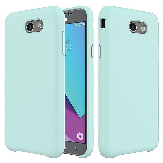 info for 47cda ce790 Galaxy J7 Case,Setber Liquid Silicone Gel Rubber Shockproof Case with Soft  Microfiber Cloth Lining Cushion for Samsung Galaxy J7 2017/J7 V/J7 Sky ...