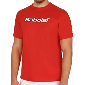 Babolat - Camiseta Hombre - Tenis Manga corta: Amazon.es: Deportes y aire libre