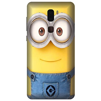 Lenovo K8 Note Back Cover Case By Wizzart In Print Designer Cases And  Covers MInions Print