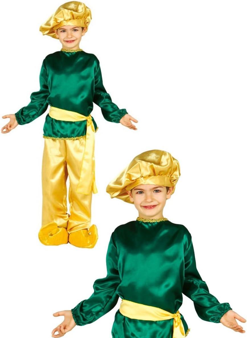 Disfraz de paje rey negro infantil 3-4 años: Amazon.es: Juguetes y ...