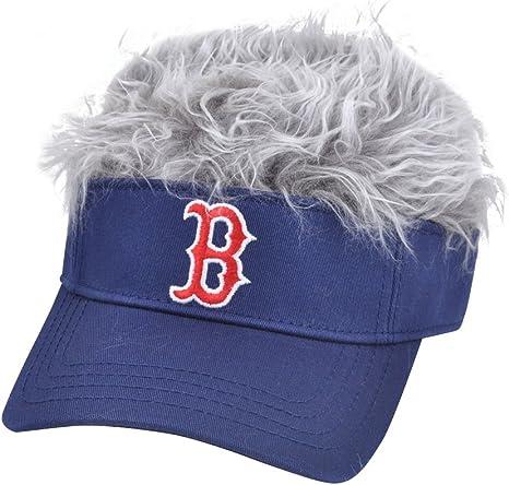 MLB Boston Red Sox CREDO furiosamente canas visera ventilador ...
