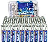 ACDelco 100-Count AA Batteries, Maximum Power Super Alkaline Battery, 10-Year Shelf Life, Recloseable Packaging