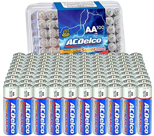 Acdelco 100Count Aa Batteries