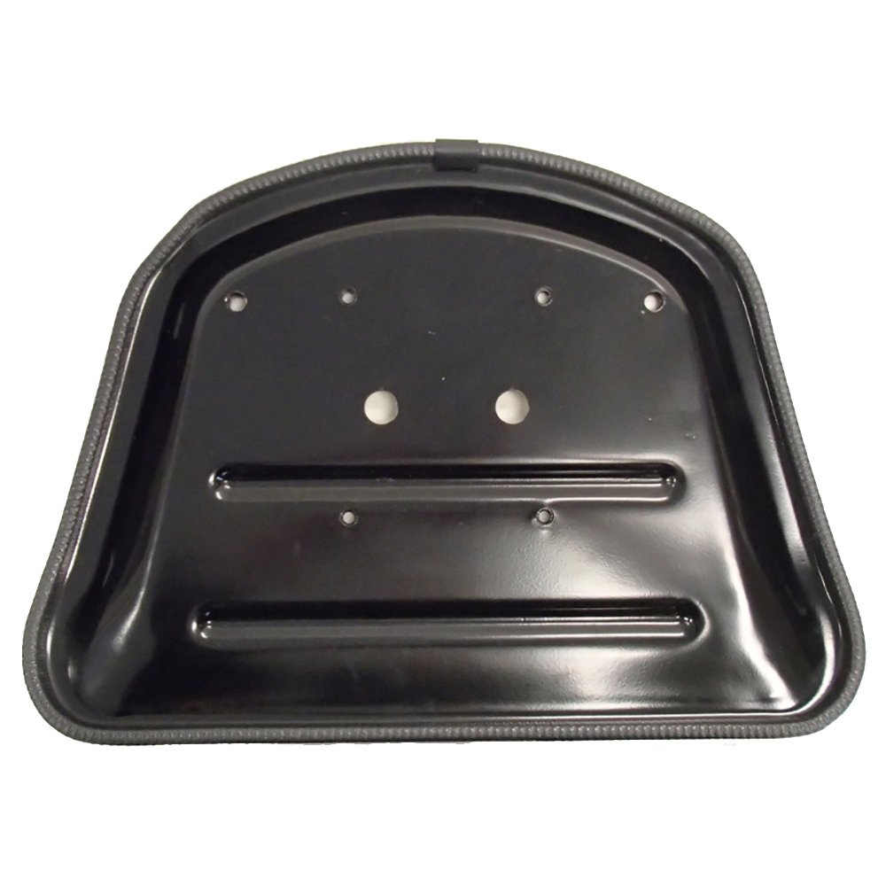 WKBL New Black Wrap-Around Backrest /& Bottom Seat Cushion Set Ford John D.