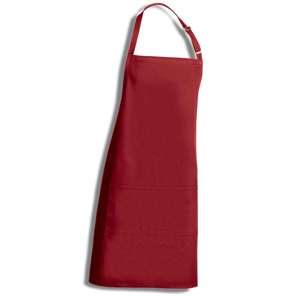 Kirando's Kitchen Apron 100% Cotton – High Quality with 200 g/m2 – 71 cm x 85 cm – Bordeaux