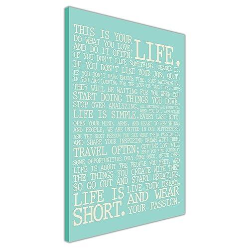 quotes on canvas amazon co uk