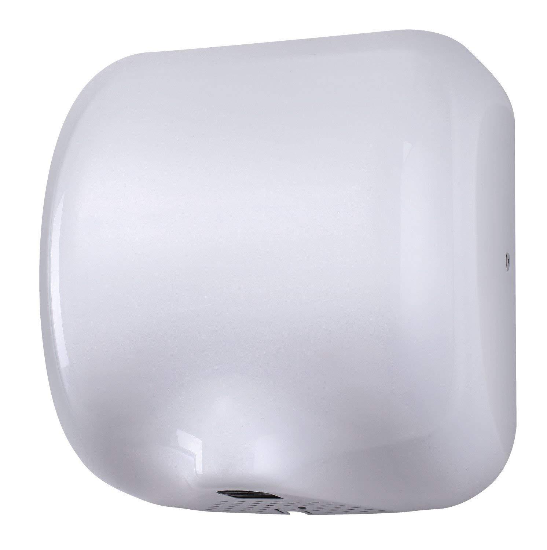 I-force Eco Dry automatique haute vitesse s/èche mains /électrique tr/ès r/ésistant en acier/ /Blanc