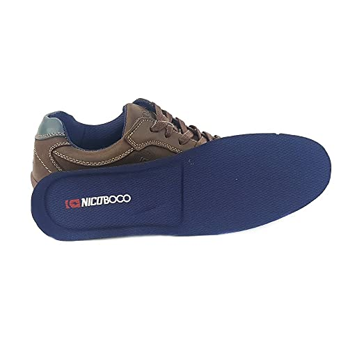 NICOBOCO - Zapatillas Casual Nicoboco Waspa Hombre Marrón 41