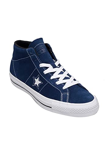 927b04af8648 Converse One Star Pro Suede MID Navy White Black (10.5 Mens   12.5
