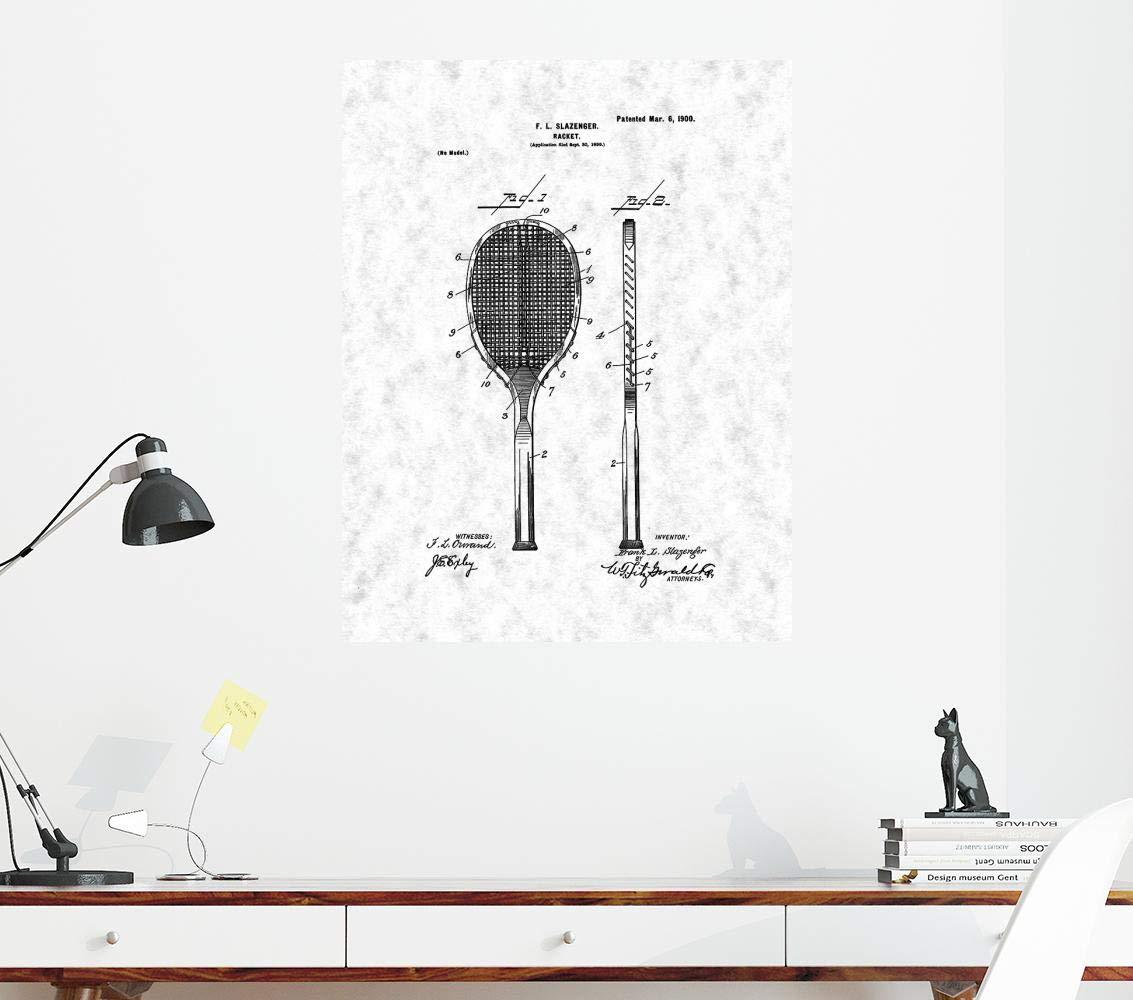 Amazon.com: Racket Patent Print Gunmetal (8.5