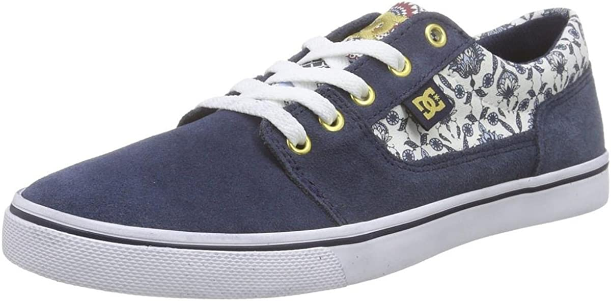 DC Tonik Womens Blue/White Sneakers