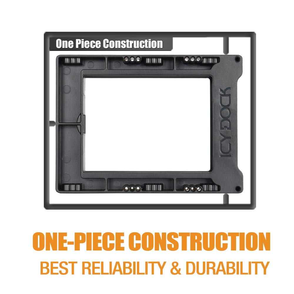 ICY DOCK Tool-less 3x 2.5 Inch to 3.5 Inch Triple Internal Hard Disk SSD Drive Mount Adapter Bracket Kit (EZ-Fit Trio MB610SP) by ICY DOCK (Image #6)