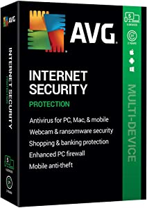 AVG Technologies AVG Internet Security 2020, 5 Devices 2 Year 2020