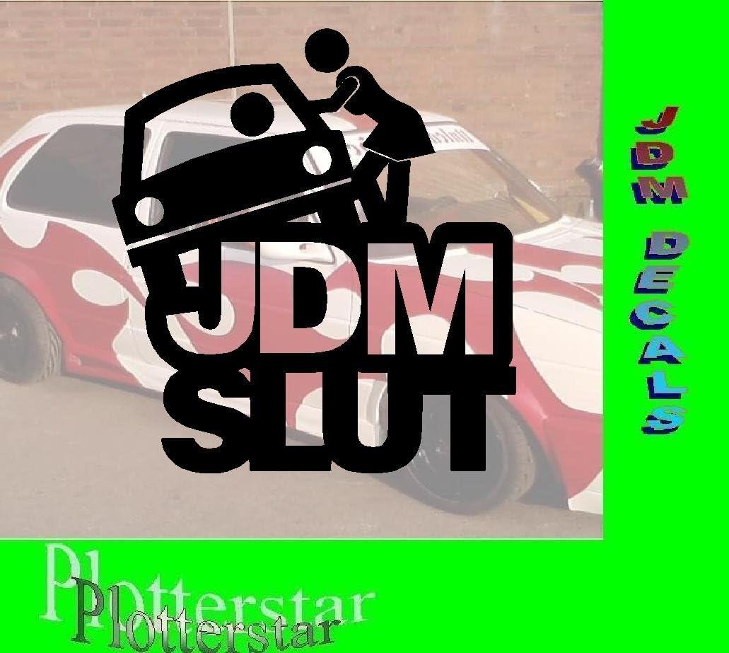 JDM Slut Auto Adhesivos: Amazon.es: Coche y moto