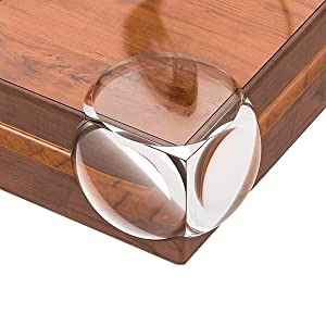 Corner Protector, Baby Proofing Corner Guards, Clear Corner Edge Protector for Baby Safety, Soft Table Corner Guards Bumpers for Furniture (24 Pack)