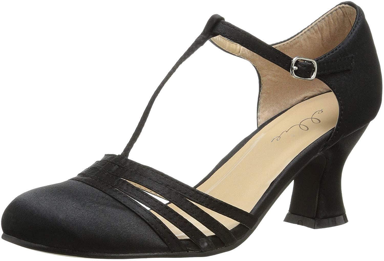 Ellie Shoes Women's 254-lucille, Black, 10 M US