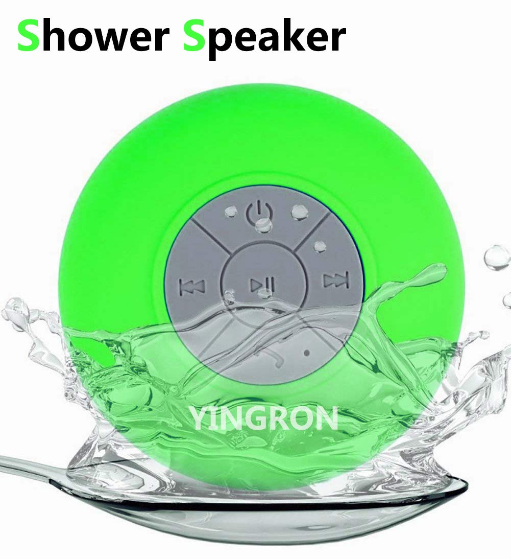 Waterproof Bluetooth Shower Speaker,Yingron Wireless...