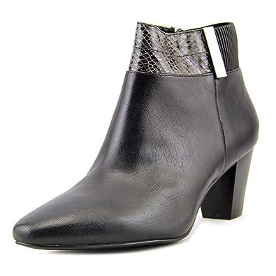 Alfani Leder Damenschuhe Palessa Leder Alfani Almond Toe Ankle Fashion 8fcb18
