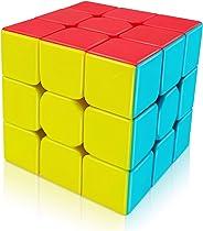 Cubo Mágico 3x3 Profissional Warrior Stickerless