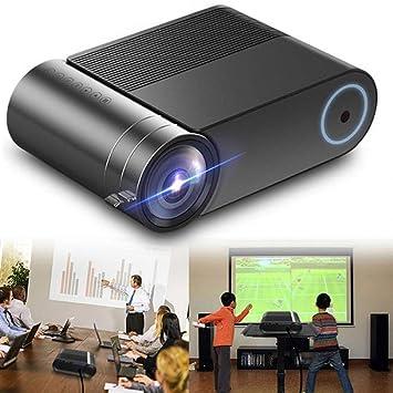 GJZhuan Proyector LED, 1280x720 HD Videoproyector Portátil ...