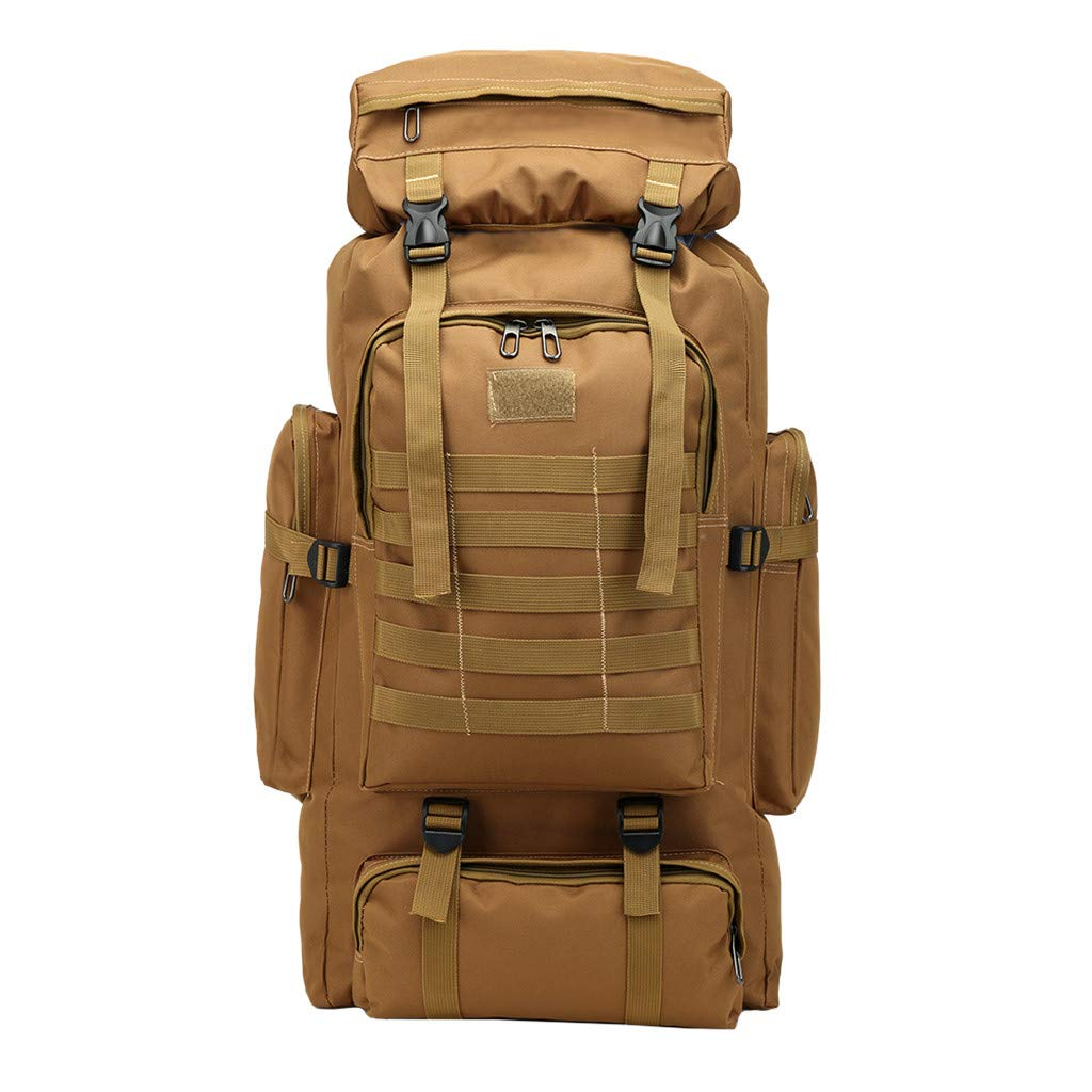 Large Capacity 80L Backpack Camouflage Outdoor Bag Travel Mountaineering Bag by NDGDA 🎒 Backpacks