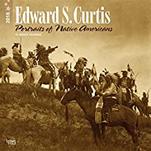 Edward S. Curtis Portraits of Native Americans 2018 12 x 12 Inch Monthly Square Wall Calendar