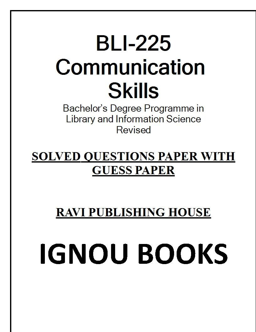 Amazon in: Buy BLI-225: Communication Skills Book Online at Low