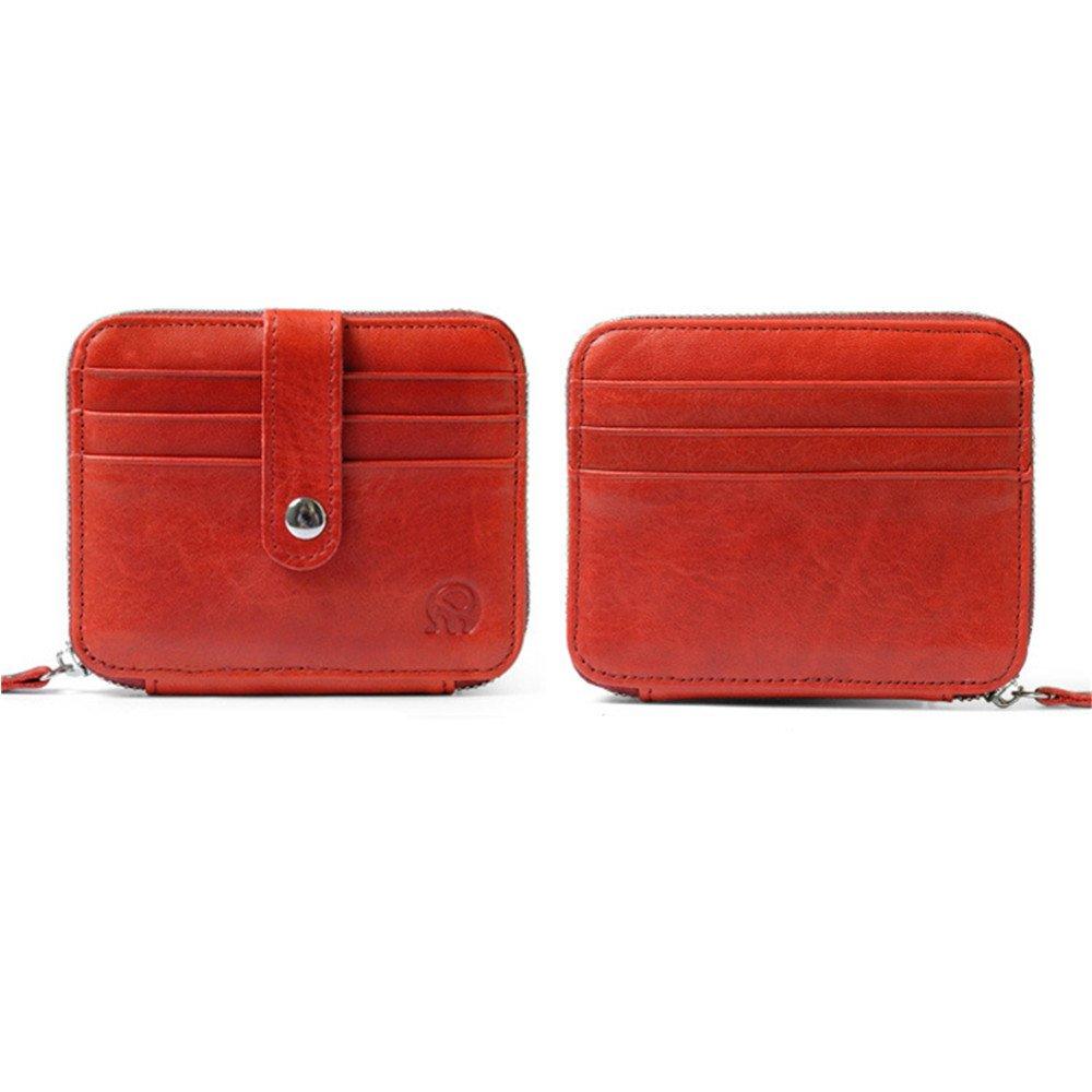 DOEUS Porte Carte de Crédit en Cuir, Mini Portefeuille Pour poches de  pantalon ou veste, ... 413531d02fd