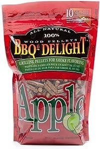 BBQ'rs Delight Apple Wood Pellets 1lb Bag
