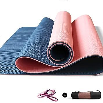 Colchonetas de yoga Colchoneta de Ejercicio de 6 mm con ...