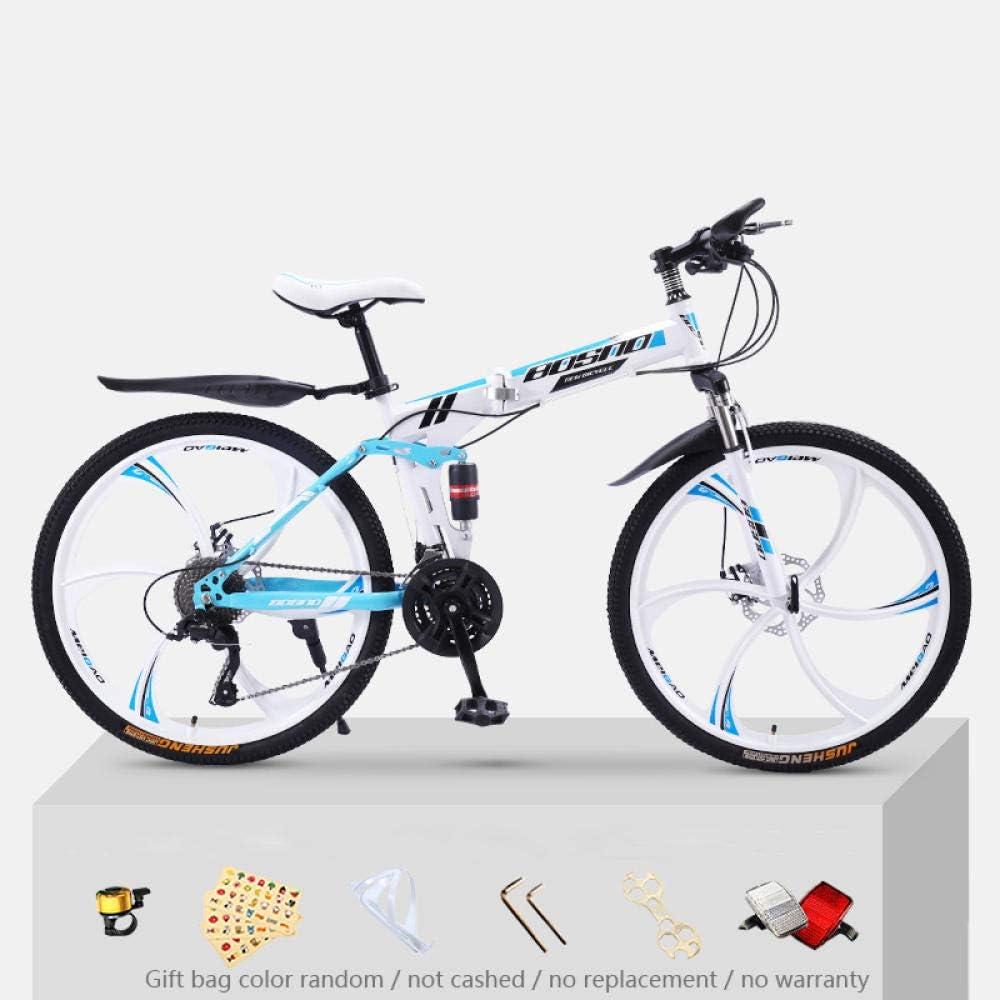KNFBOK bicicleta trek Bicicleta de montaña para adultos, 21 ...