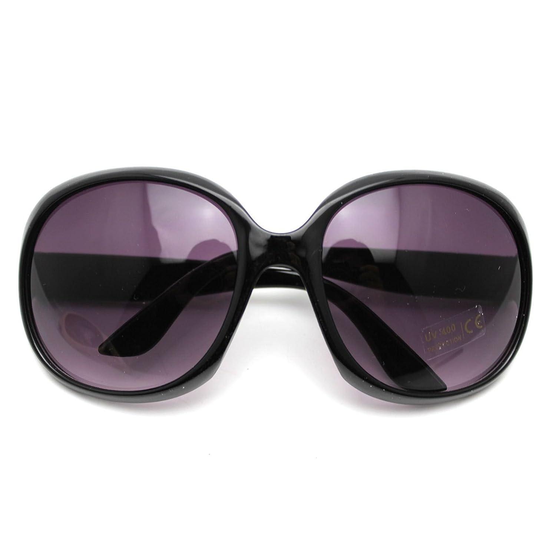 Klassiker Unisex Kinder Frosch Augen Stil UV400 Schutz Sonnenbrille Schutzbrillen Schwarz