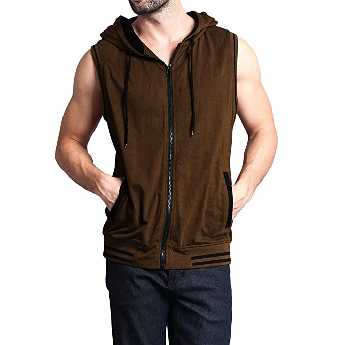 Amazon.com: YKARITIANNA Fashionable Mens Vest Jacket ...