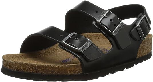 3. BIRKENSTOCK Milano Unisex Leather Sandal