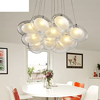 Simple Personality Chandelier/Glass Ball Lamp/Living Room Lamp ...