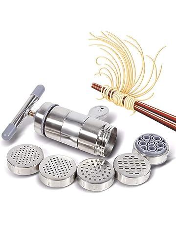 Delleu Fabricante Manual portátil de los tallarines de la máquina de Las pastas del Acero Inoxidable