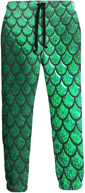 Emild Pantalones de chándal para Hombre Estampado de Serpiente ...
