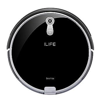 iLife A8 Robot aspiradora con una cámara de navegación panorámico, carga automática, con sistema de tecnología inteligente i-voice: Amazon.es: Hogar